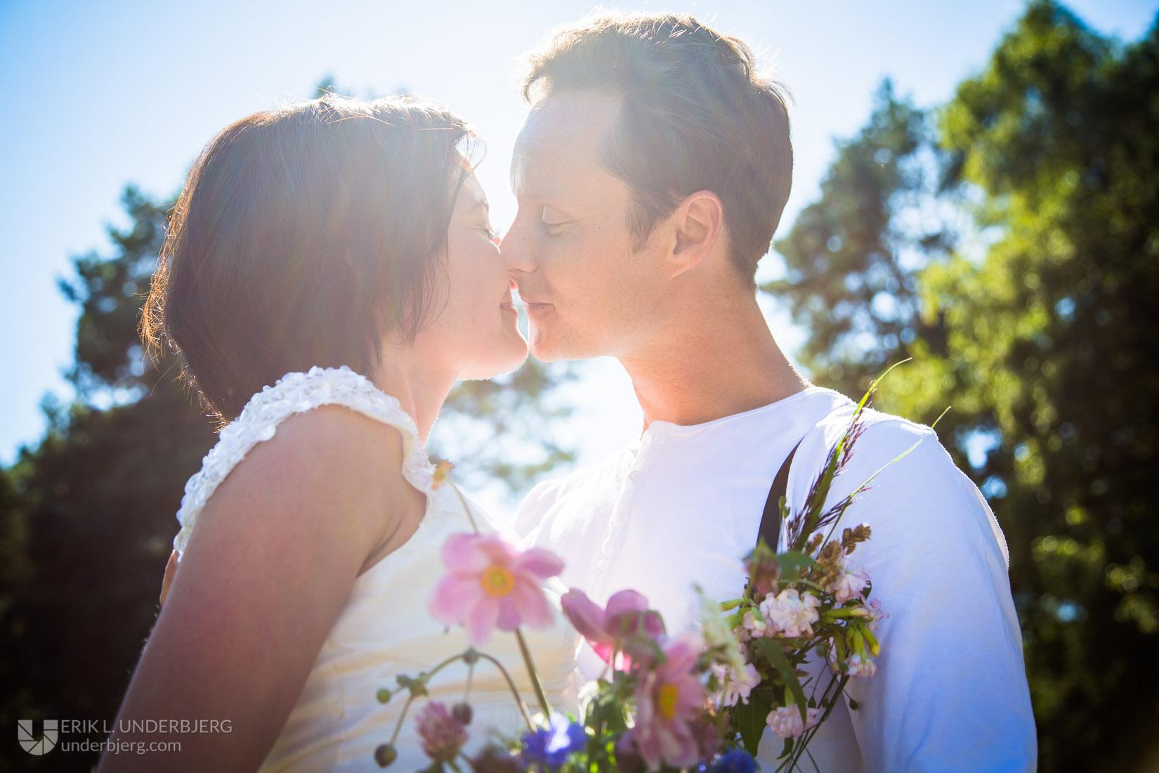 Nygift sommerkys