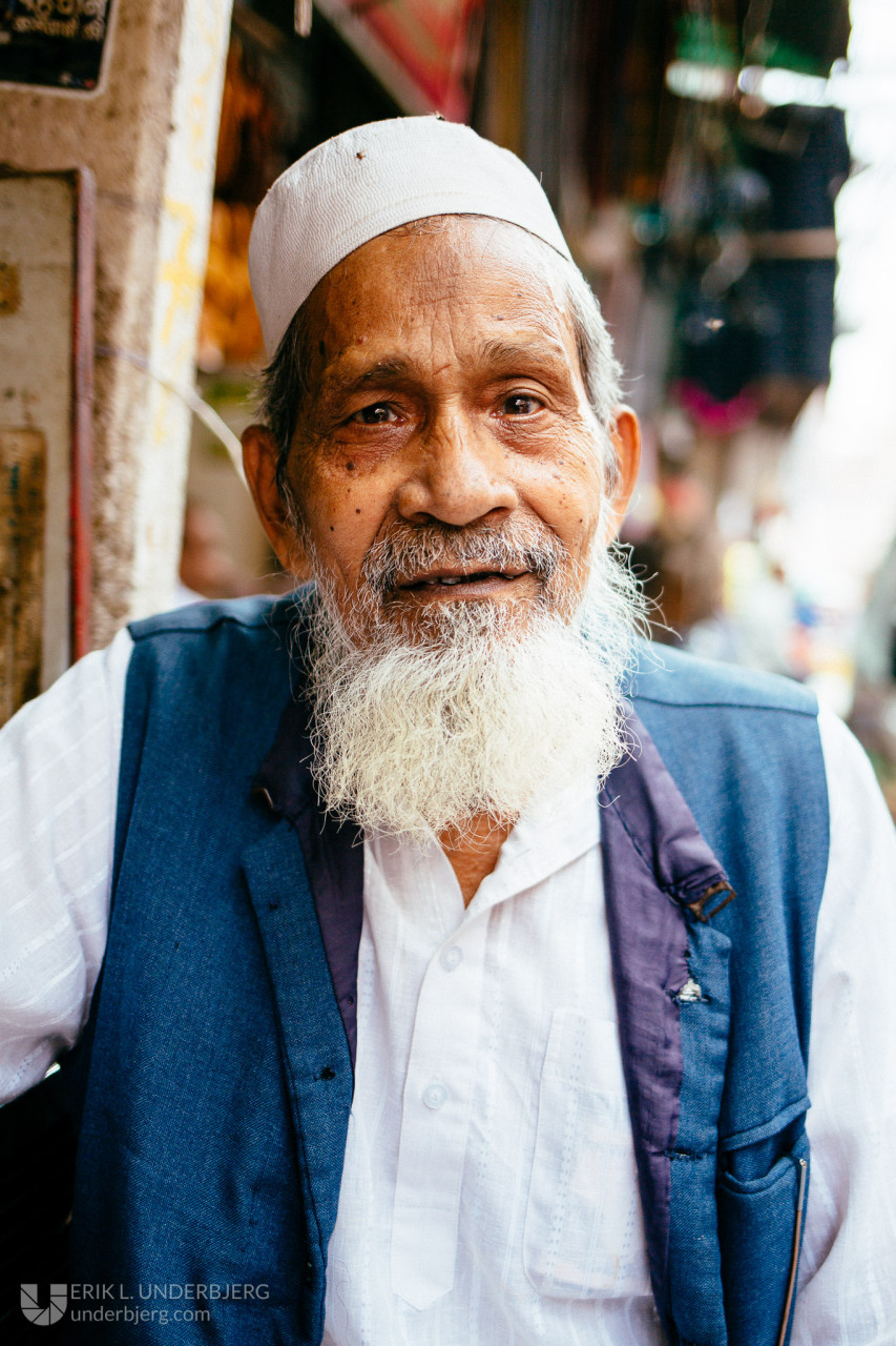 Man in Old Delhi