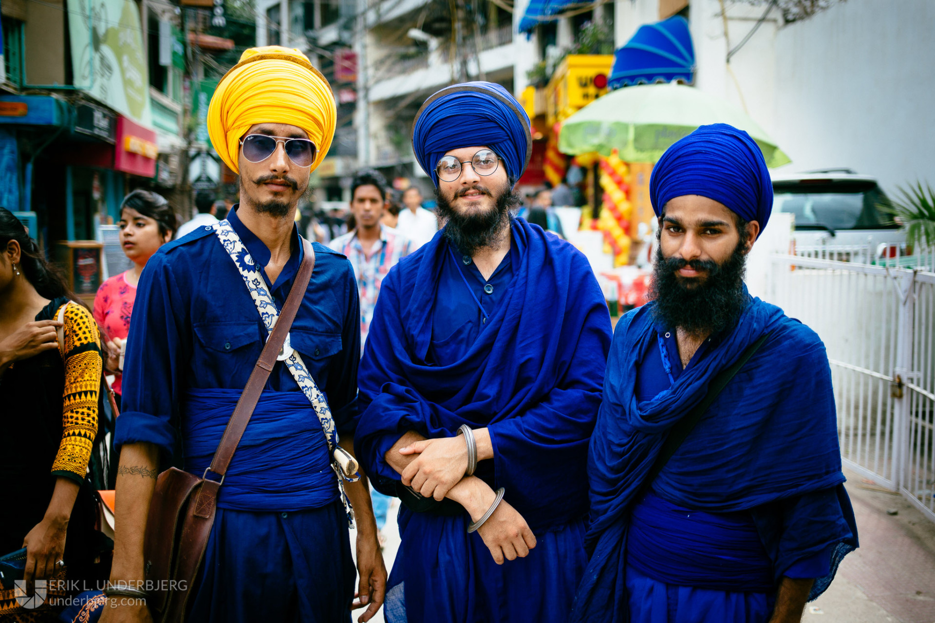 Cool Sikhs in New Delhi